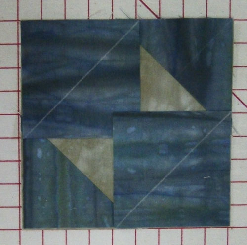Layer the final two corners