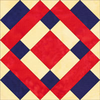 Lincoln quilt block
