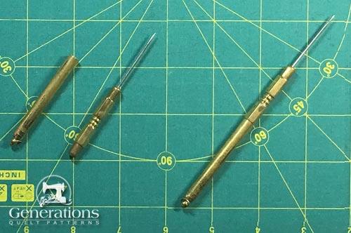 Brass sewing stiletto