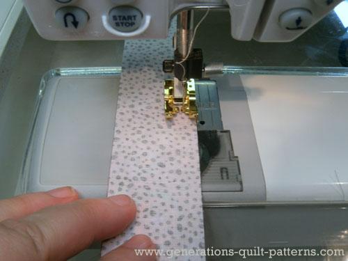 Stitch strip sets