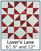 Lover's Lane quilt block tutorial