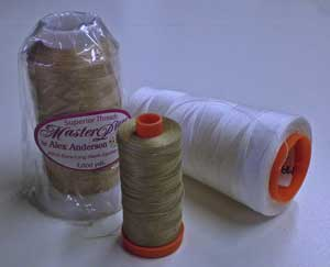 Tame machine quilting tension problems with the same thread in the needle and bobbin