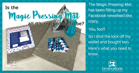 Is the Magic Pressing Mat all it's cracked up to be?