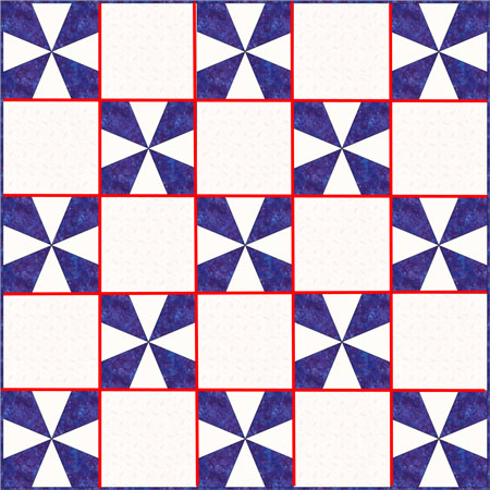 Rail Fence Quilt Pattern Designs / Easy Beginner Quilt Pattern