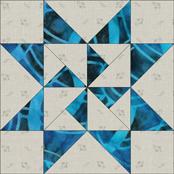 Martha Washington Star quilt block