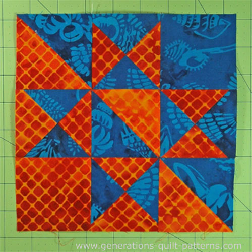 The Dynamic Massachusetts Quilt Block Instructions In 5