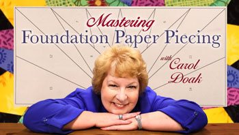 Click here for information on this EXCELLENT CLASS by Carol Doak, paper piecer extraordinaire!