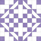 Click here for instructions to make a Medieval Walls quilt block