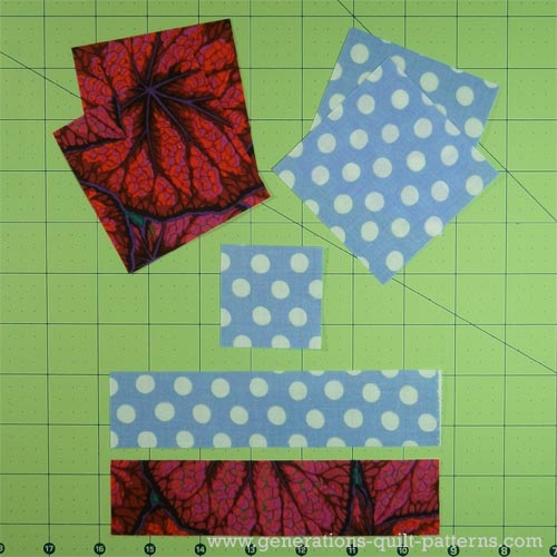 Monkey Wrench Quilt Block Tutorial - 5