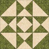 Mosaic #2 quilt block