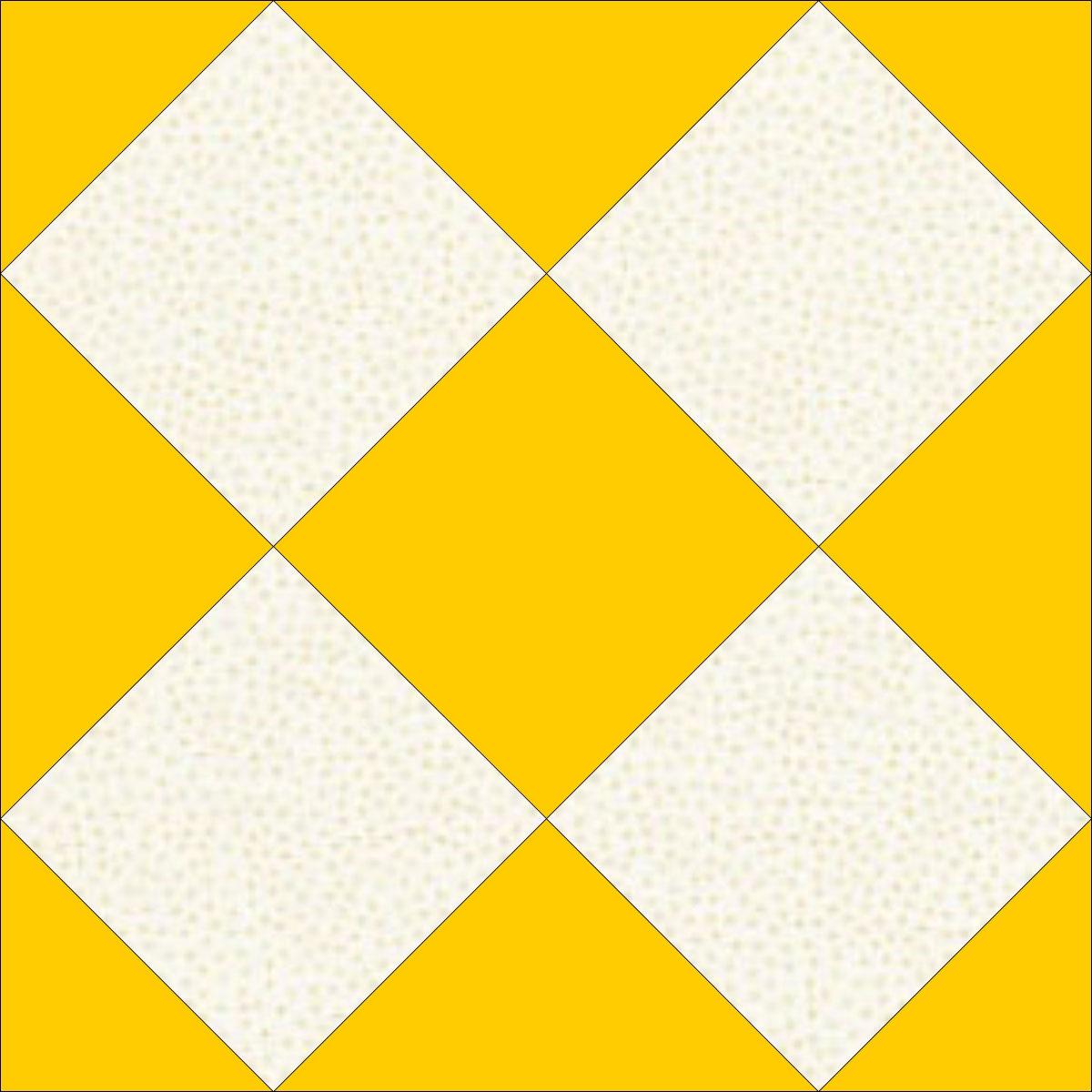 Mosaic #3 quilt block