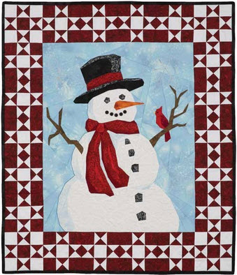 Snowman Quilt Patterns: Not just for the holidays! : snowman quilt pattern - Adamdwight.com