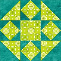 Mrs. Brown's Choice quilt block