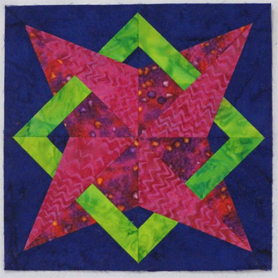 Nells Star Quilt Block Pattern