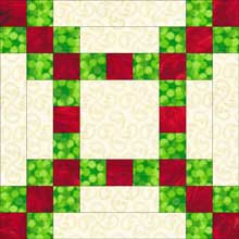 New Irish Chain Quilt Block