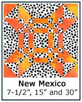 New Mexico quilt block