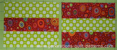 Making Nine Patch quilt blocks is as easy using just two squares! : patch quilt pattern - Adamdwight.com