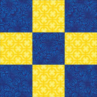 """9"""" Road to California Quilt Block Pattern"""