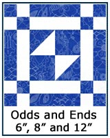 Odds and Ends quilt block tutorial