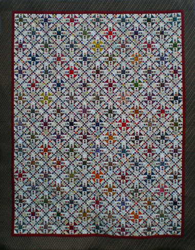 Omigosh Quilt stitched and quilted by Julie Baird