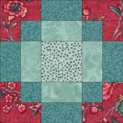 Modified Antique Tile quilt block