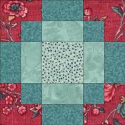 Modified Antique Tile quilt block