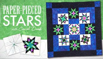 Click here for information on this and other online video classes for paper piecing