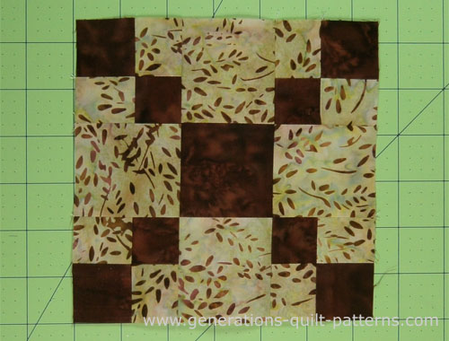 Pennsylvania Quilt Block Step By Step Lesson In 4 Sizes