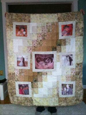 Sarah's Baby Quilt<br><br>Click on each thumbnail below for a larger image<br><br>
