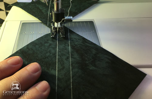 Sewing HST