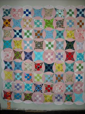 Q What Is This Quilt Blocks Name A Glorified Nine Patch