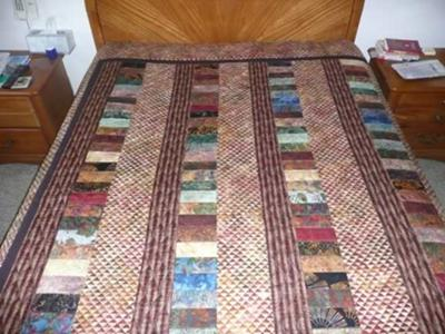 Phil & Malinda's Wedding Quilt<br /><br />Click on any thumbnail below for a larger image<br /><br />