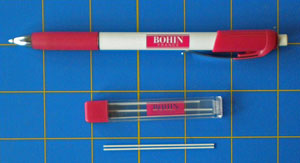 My favorite chalk pencil by Bohin (shown with extra 'leads')