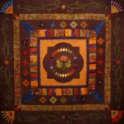 Raffle Quilt: Pearls of Inspiration, Wisdom & Friendship