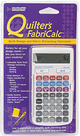 Click here to learn more about the Quilter's Fabricalc available from Amazon.com