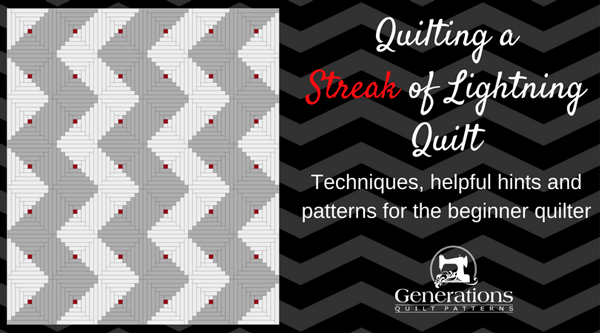 Quilting a Streak of Lightning article