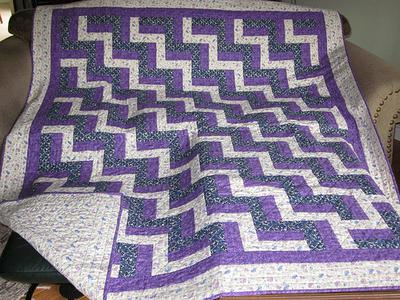 Rail and Fence Quilt : rail fence quilt pattern - Adamdwight.com