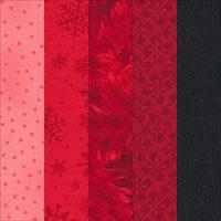 Rail fence quilt with gradating fabrics