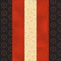 Rail Fence Baby Quilt | AllPeopleQuilt.com