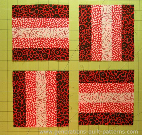 Beginning Quilting: Rail Fence Quilt Block Tutorial : fence rail quilt pattern instructions - Adamdwight.com