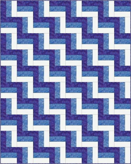 Rail Fence Quilt Pattern Designs / Easy Beginner Quilt Pattern : quilt design - Adamdwight.com