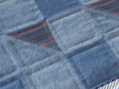 Recycled Denim Quilt