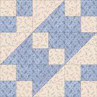 Road to Arkanasas quilt block design