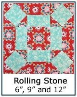 Rolling Square quilt block tutorial