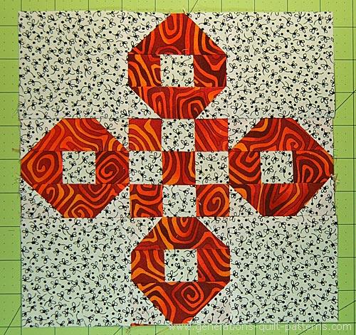 Santa Fe quilt block