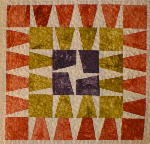 Something Old is New Again - quilt block