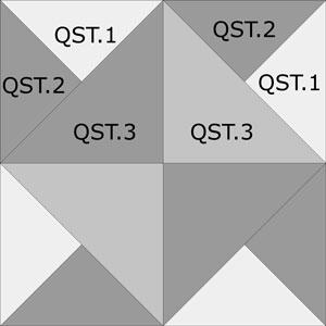 Southern Belle quilt block design