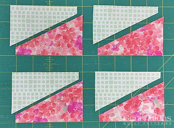 Four pairs of like split rects patches