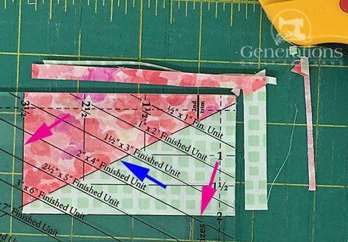 Second trim - perfect size half rectangle unit