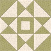 Squares and Diamonds quilt block